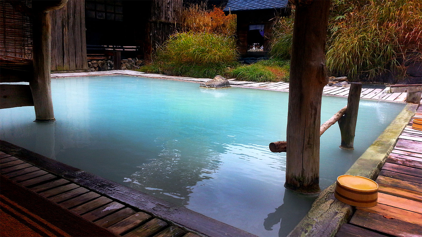Japan Trip Blog Winter The Snow Mixed Hot Springs And Dragon Of Nyuto Onsen