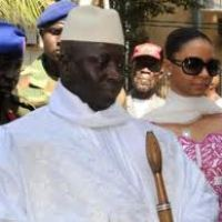 President Jammeh leaves Banjul for France on an Undisclosed visit