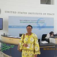 Fatou Jaw Manneh Goes to Washington