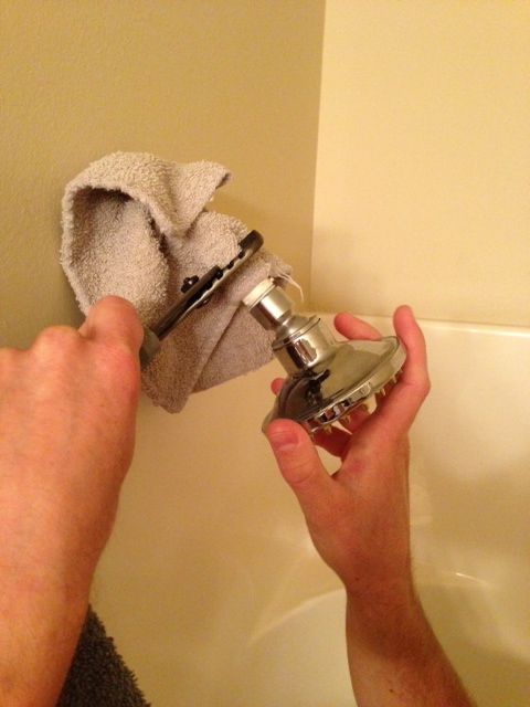 How To Install A New Showerhead Pretty Handy Girl How To