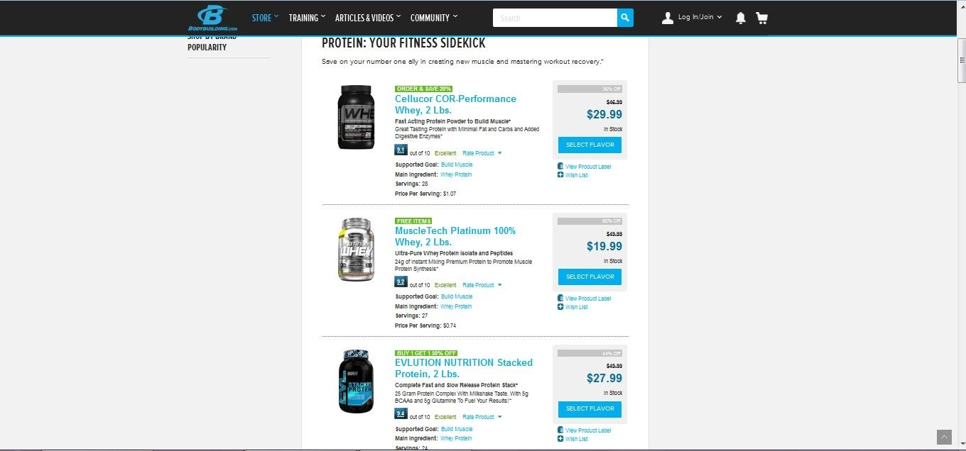 Body building com coupon codes