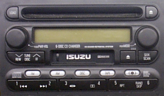 2002 Isuzu Rodeo Radio Wiring Diagram Wiring Diagram