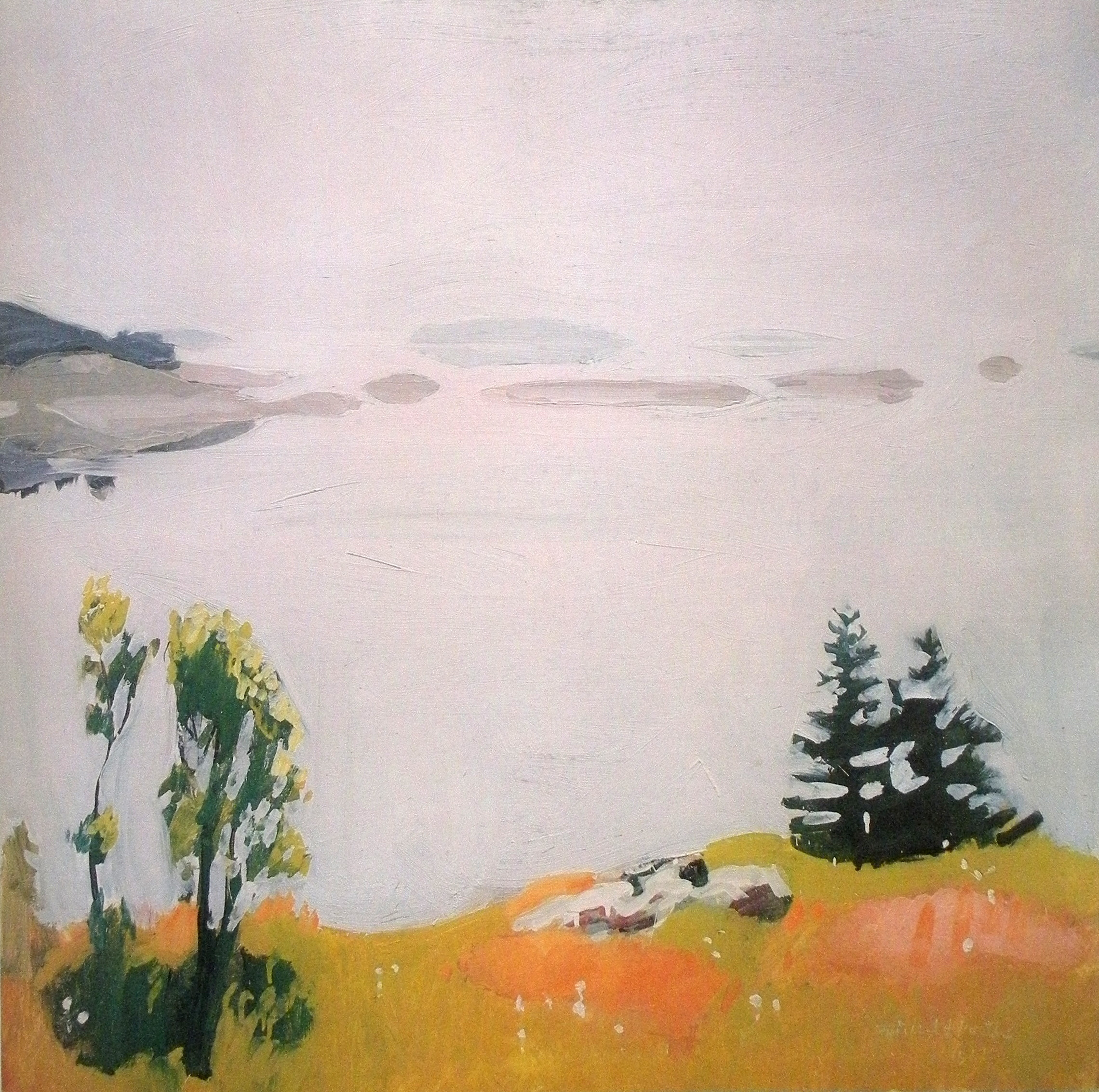 Fairfield Porter Still Life Achiness Drifts And Scatters