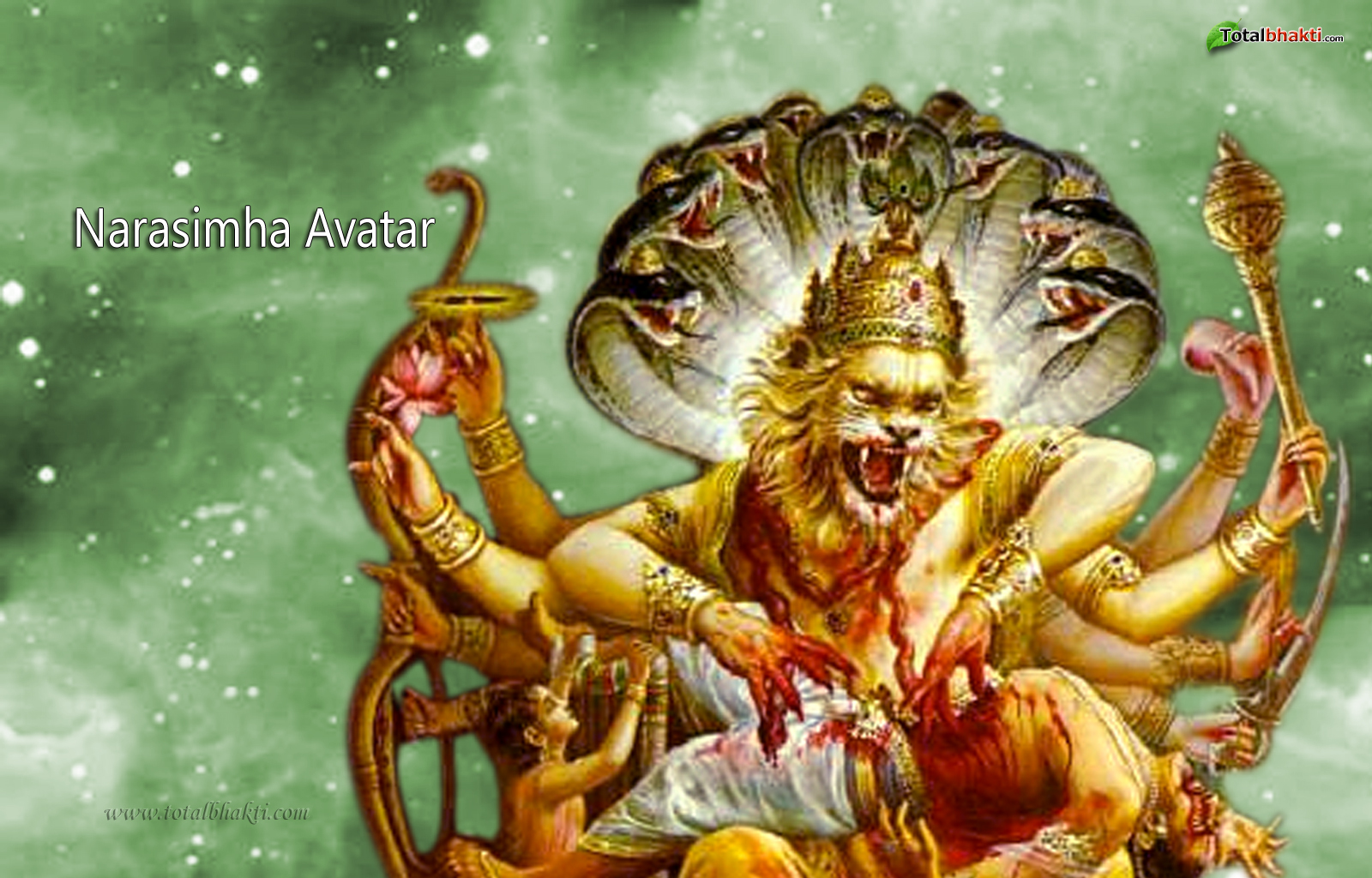 Shiva Animated Wallpaper Hd Protector Narasimha Avatar Was Half Man Half Lion