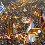 Tens of thousands of Catalans rally, demand early elections (VIDEO, PHOTOS)