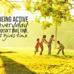 Staying Active helps us Stay Centered