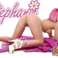 Stephanie is nude and ready - don't be a lazy and fuck her now!