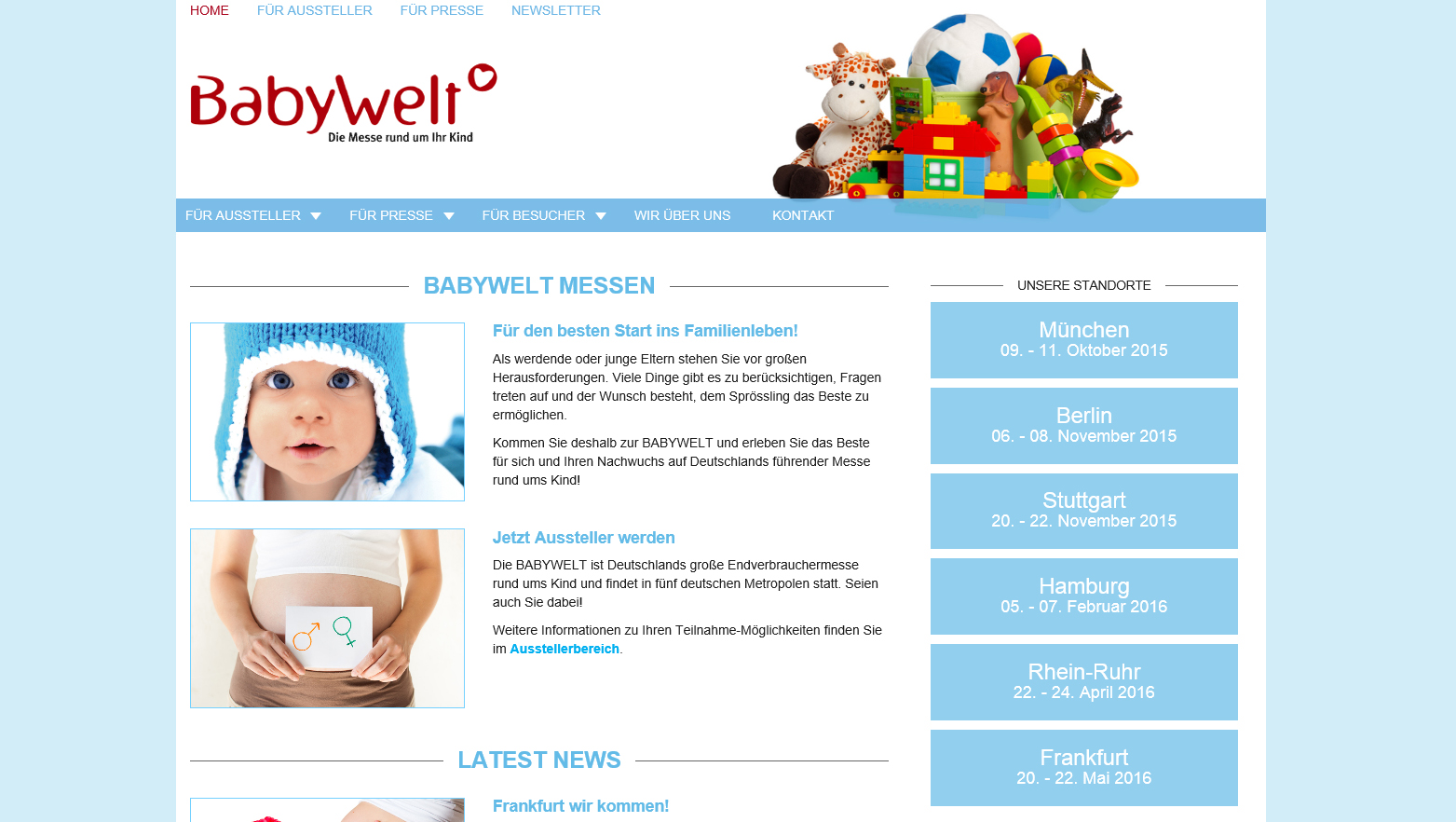 Babywelt Frankfurt Babywelt Messe Great Chance To Buy Infant Baby Products In
