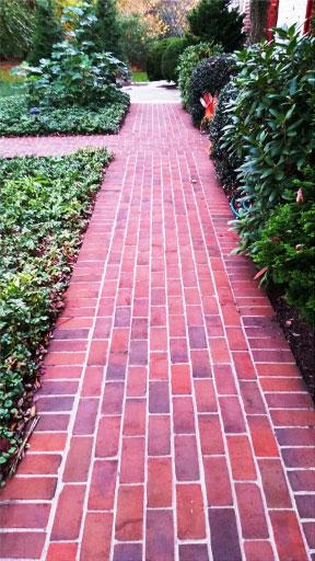 Traditional Clay Brick Patios And Walkways Galantino