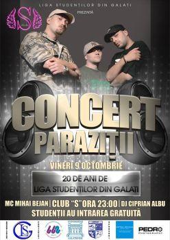 Concert Parazitii 2015