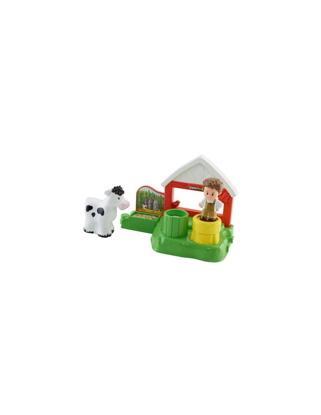 Bolti Farmhouse Kisállat Farm Tejüzem Fisher Price Little People