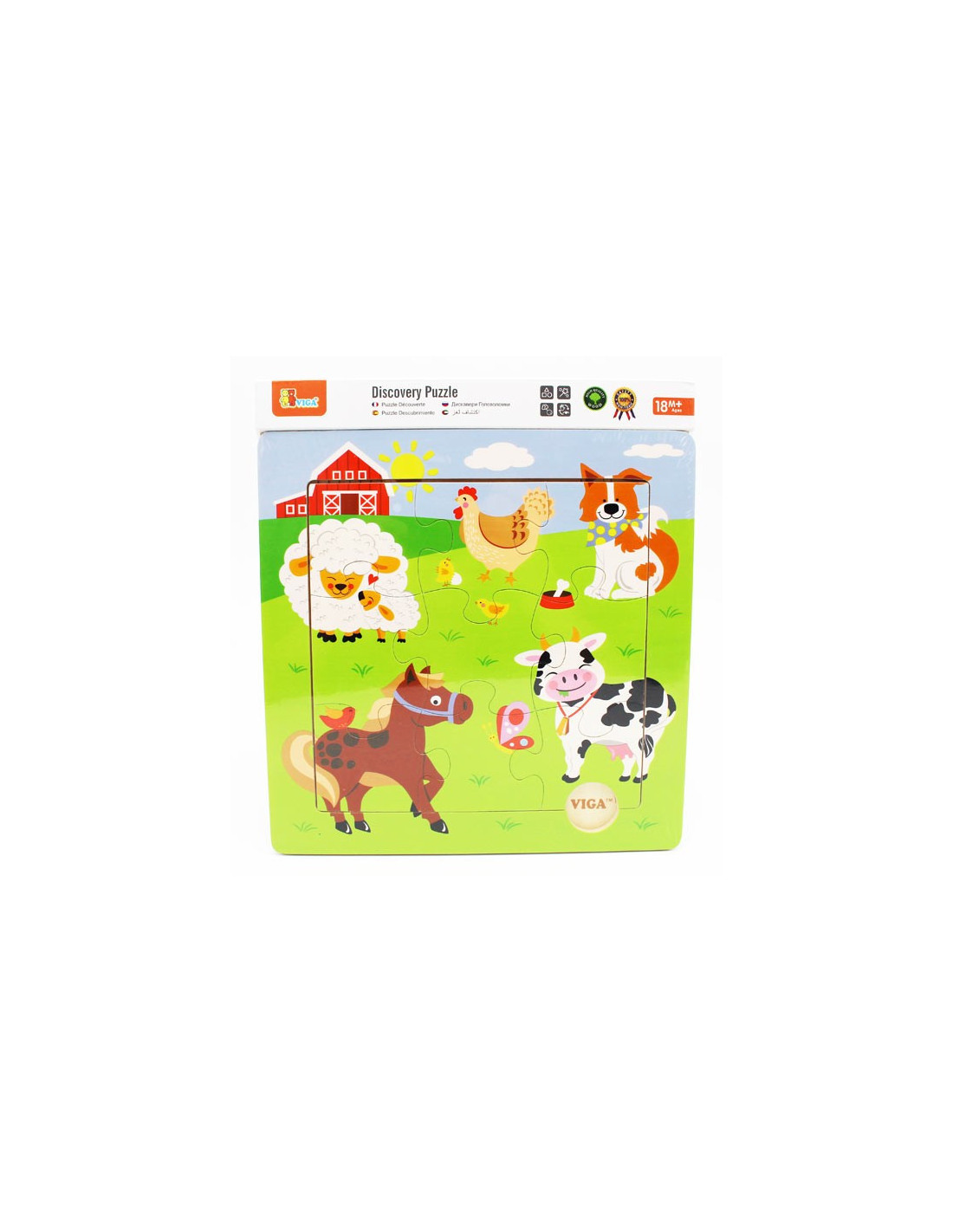 Bolti Farmhouse Viga Fa Puzzle 9 Db Os Farm