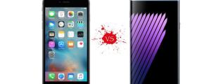 Samsung Galaxy Note Smartphone vs the New iPhone - The Battle between Two of the Hottest Phablets of this Year