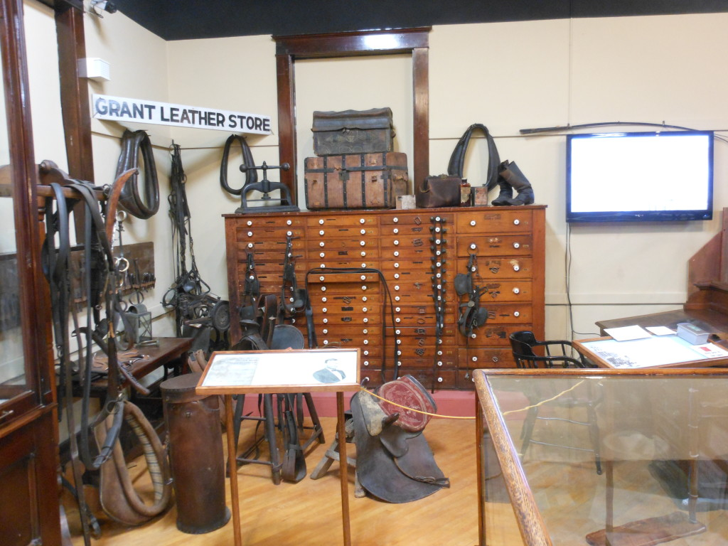 Leather Shop Grant S Leather Store Galena History Museum