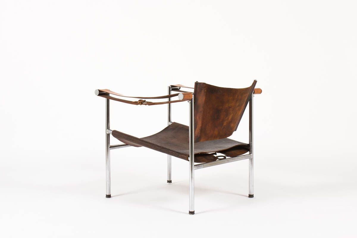 Vintage Sitting In Tribute To The Lc1 Model By Le Corbusier