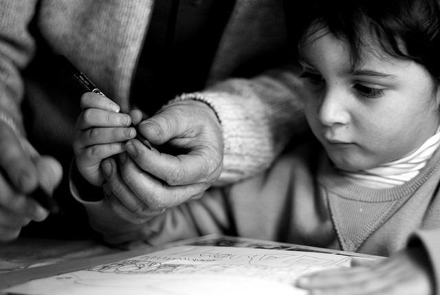 photographie de <b>Fabrice Clerc</b> - Apprendre-a-tenir-un-stylo-Fabrice-Clerc