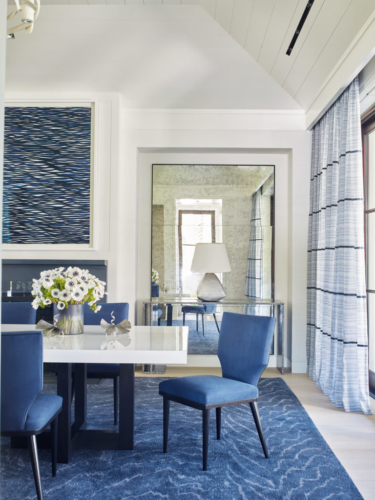 Dining Room Table Rug Victoria Hagan Gives A Florida Retreat A Magical Makeover