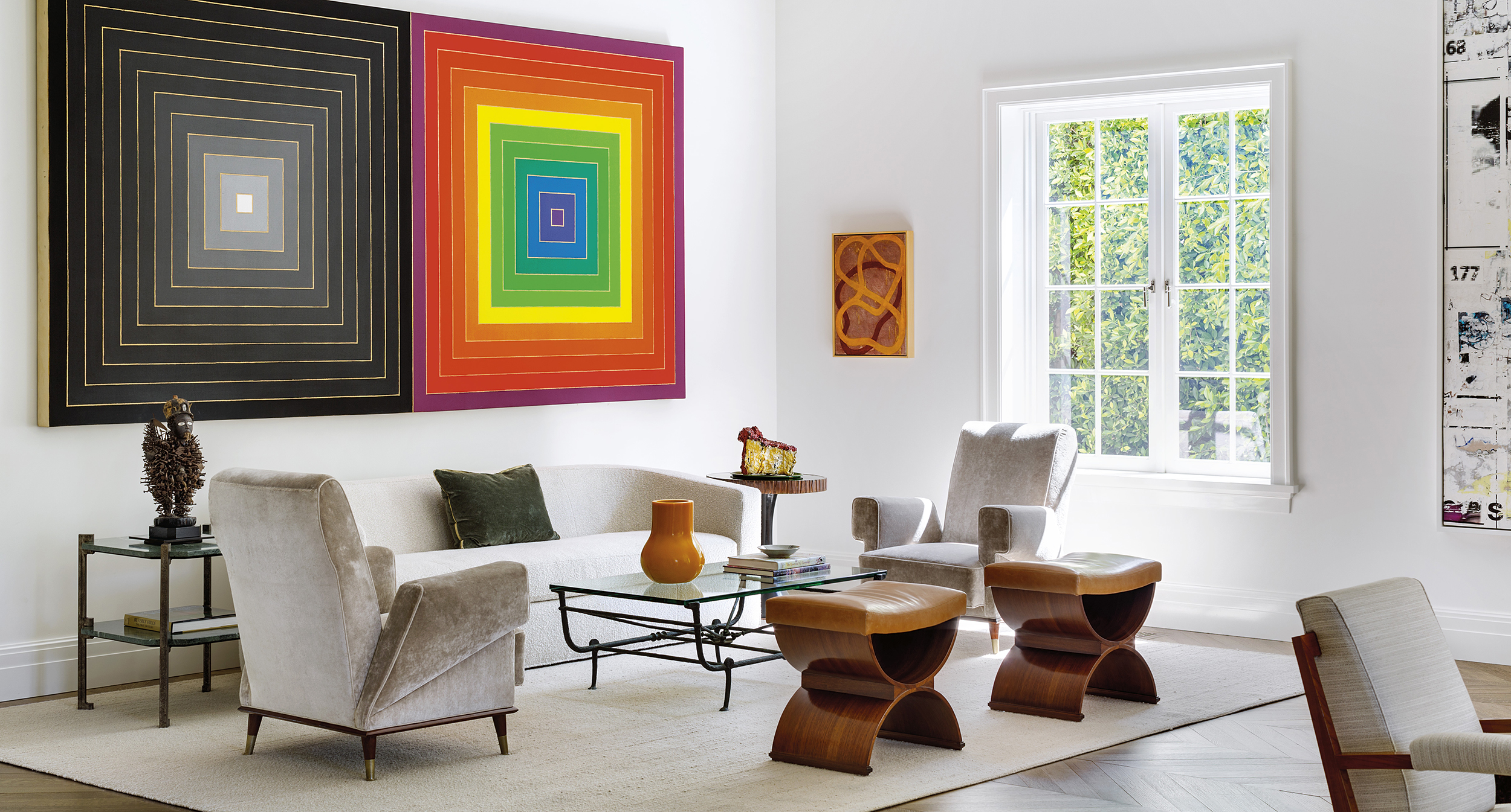 18 Elegant Living Rooms With Extraordinary Art Galerie