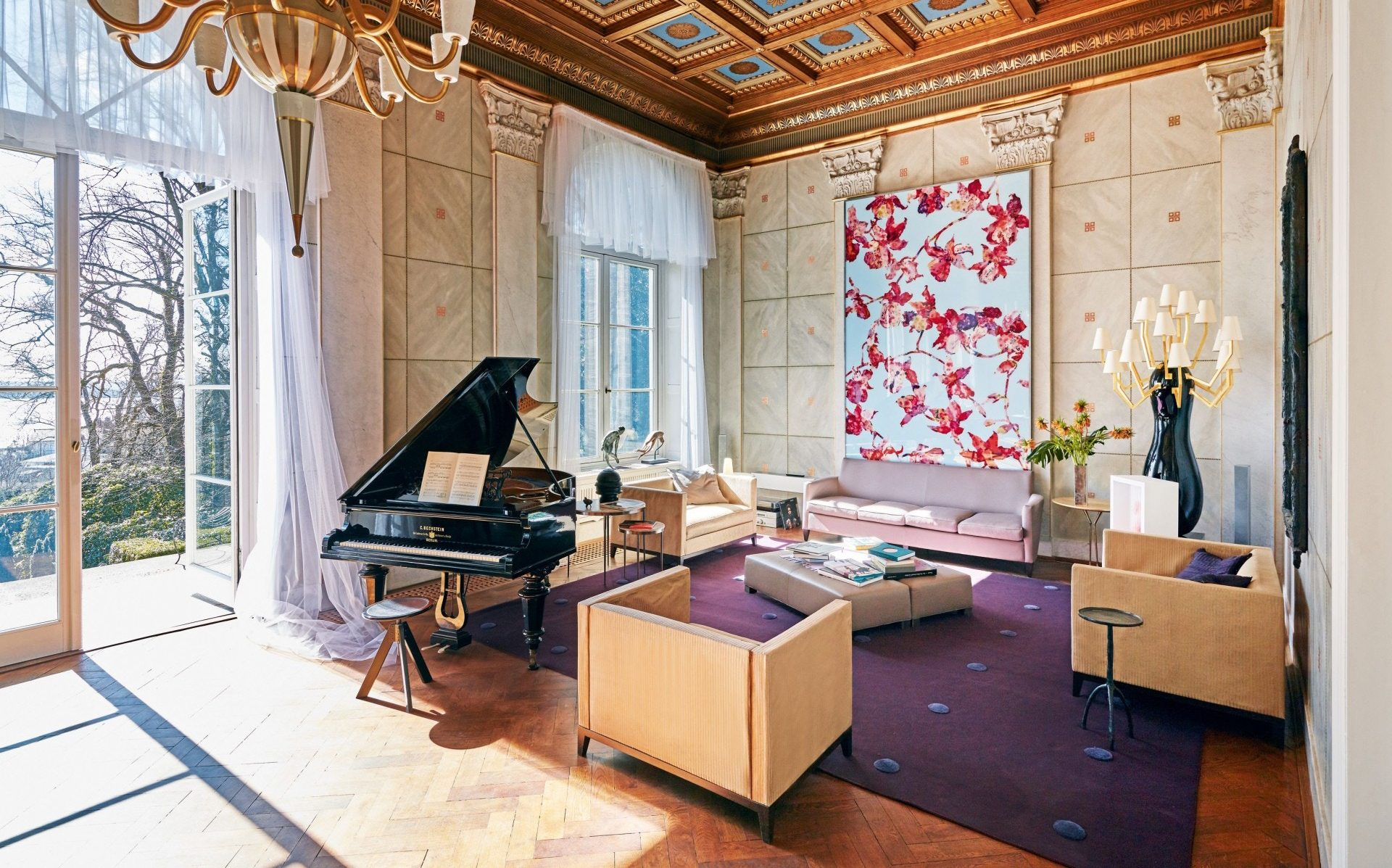 Interior Designer Hamburg Karl Lagerfeld S Dreamy Hamburg Villa Is On The Market For 11 7