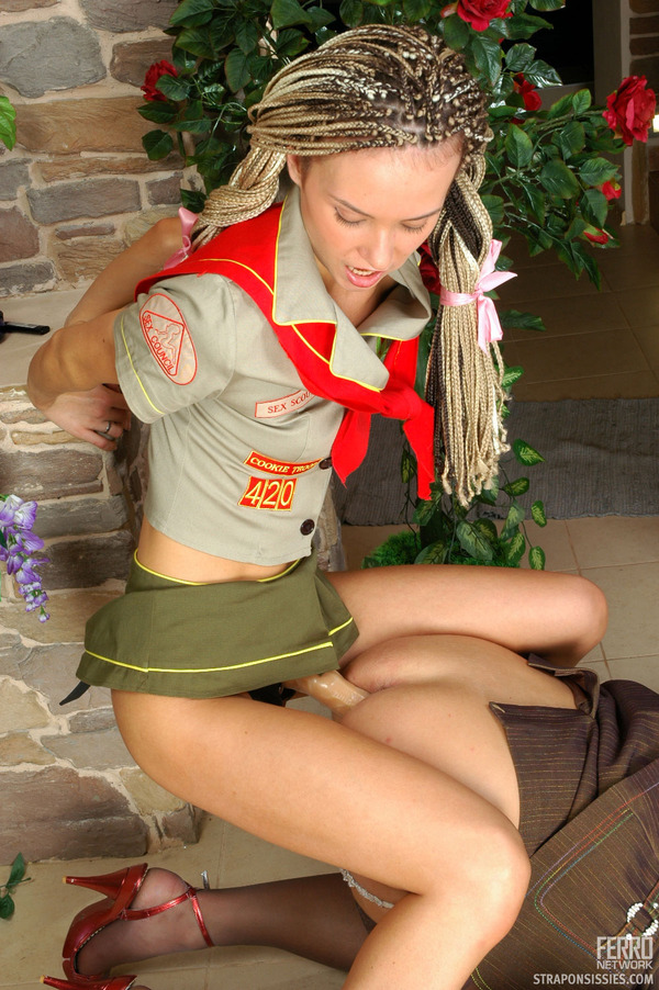 naughty girl scout porn caption