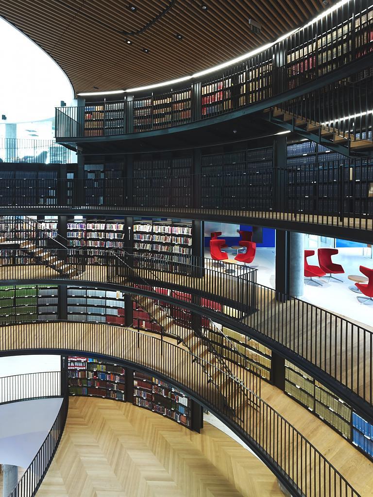 Библиотека ХХI века в Бирмингеме