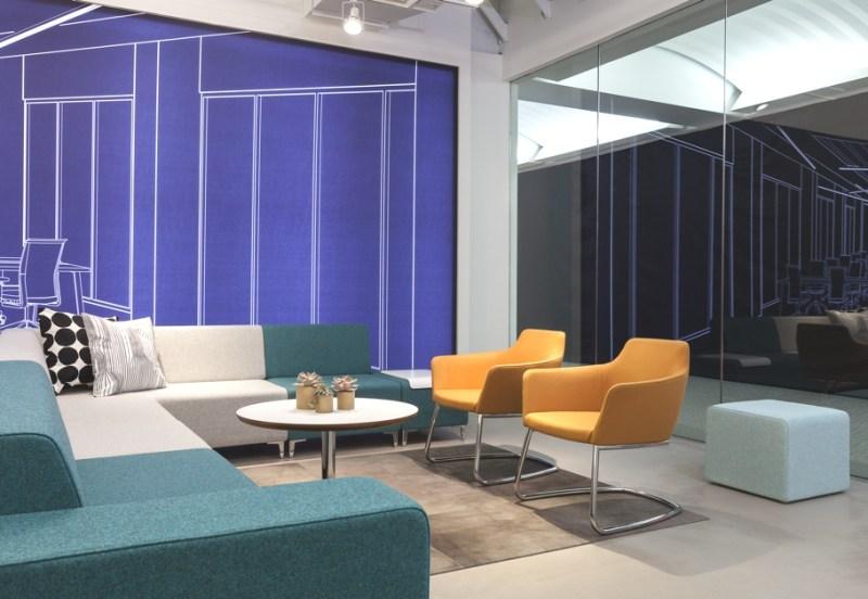 Выставочный зал товаров для современного офиса STYLEX в Чикаго
