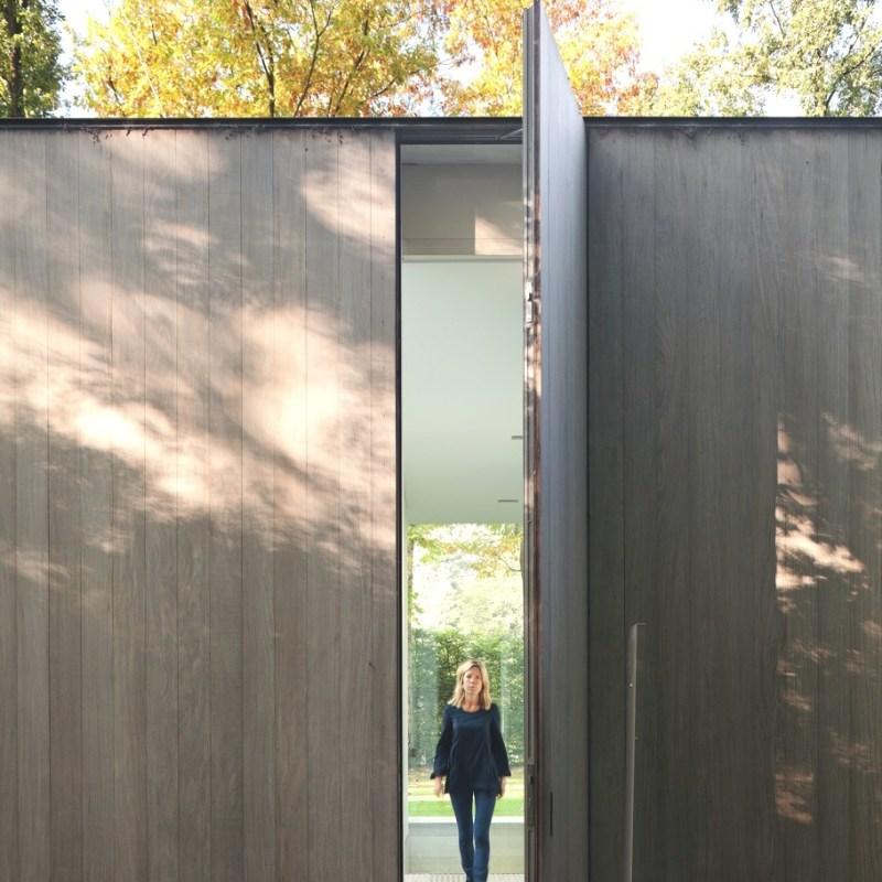 Дом House Roces среди леса в Бельгии