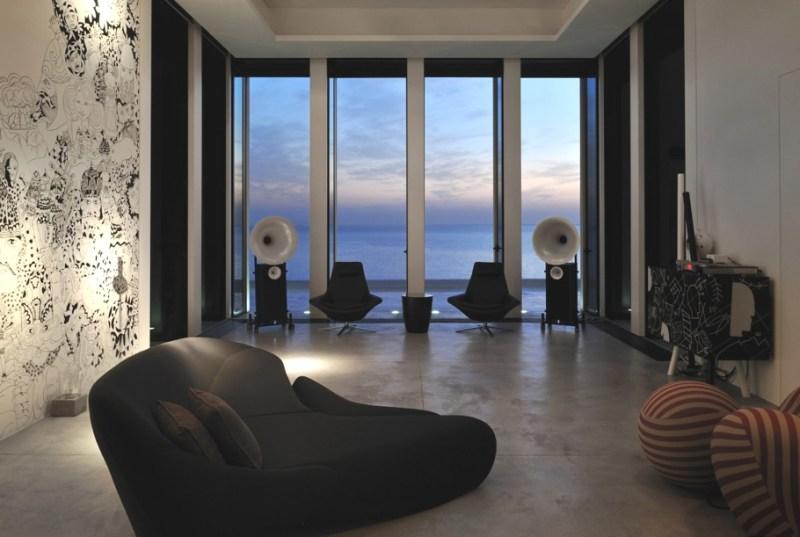 Дом на берегу моря Fidar Beach House в Ливане