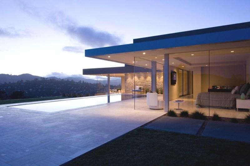 Уникальный дом с видом на море в Калифорнии