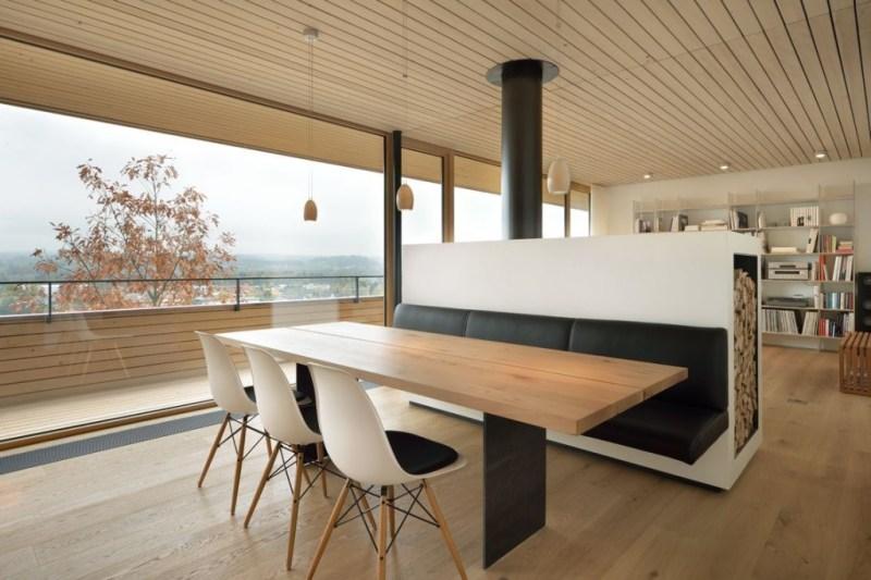 Частный дом WOHNHAUS во швейцарских Альпах