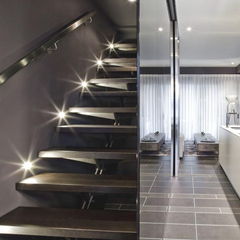 Роскошный дизайн интерьера пентхауса