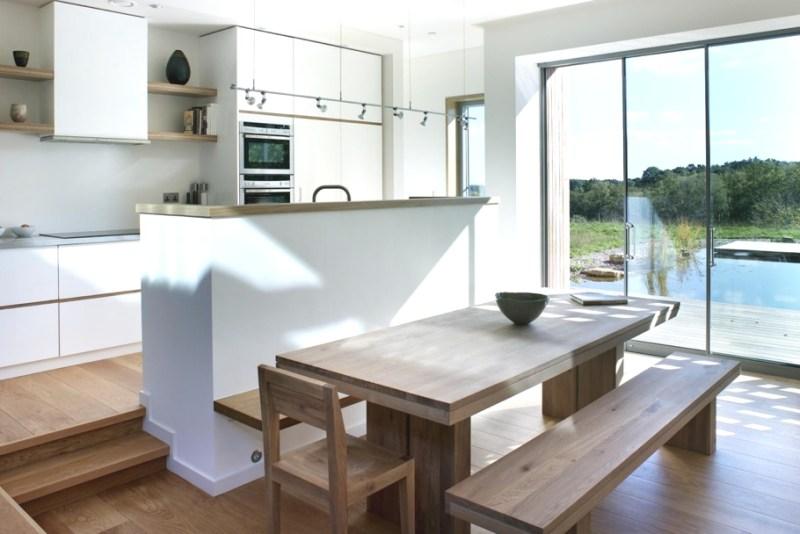 Дом с дизайнерским интерьером New Forest House в Великобритании