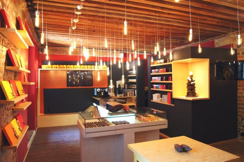 Магазин шоколада Que Bo в Мехико