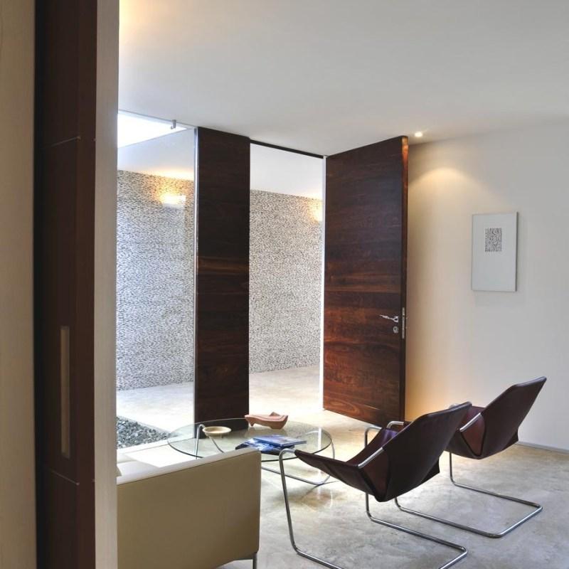 Роскошный интерьер дома Rajuela в Мексике