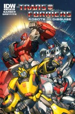 [Transformers Robots in Disguise #1 Cover]