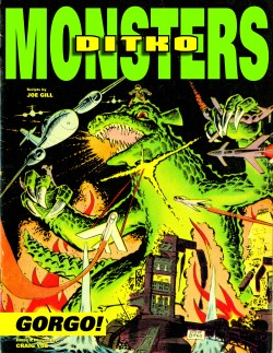 [Ditko Monsters Gorgo Cover]