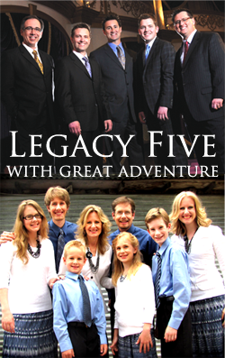 Legacy Five with Great Adventure