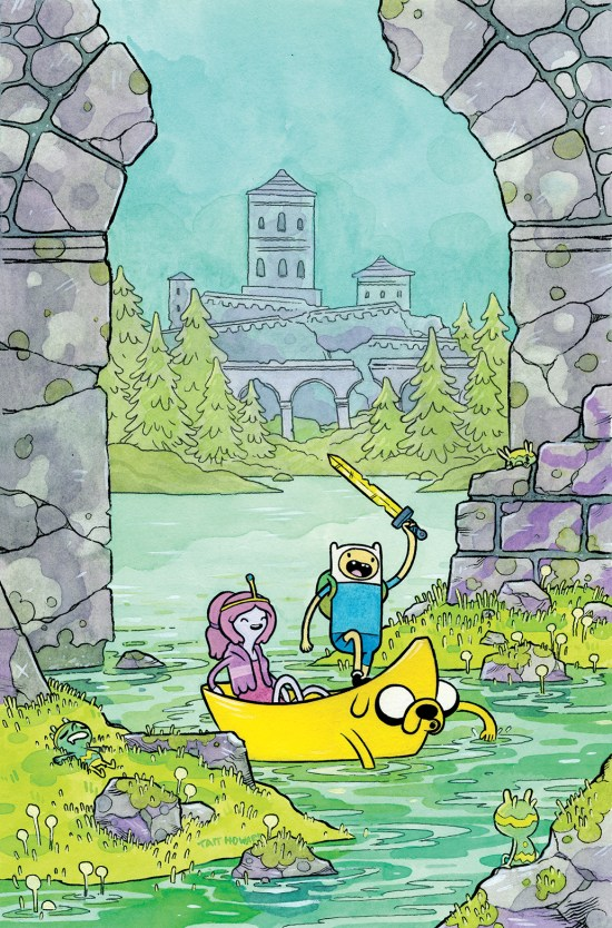 ADVENTURE TIME #32 Cover B by Tait Howard