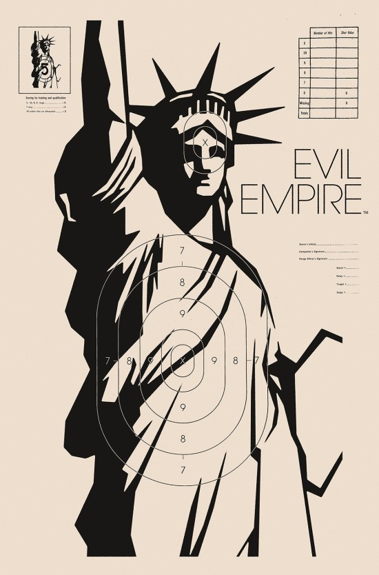 EVIL EMPIRE #7 Cover by Jay Shaw