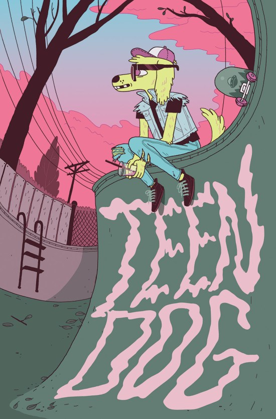 TEEN DOG #1 Cover B by Jen Lee