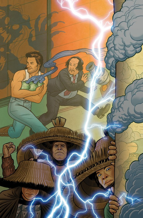 BIG TROUBLE IN LITTLE CHINA #4 Cover B by Joe Quinones