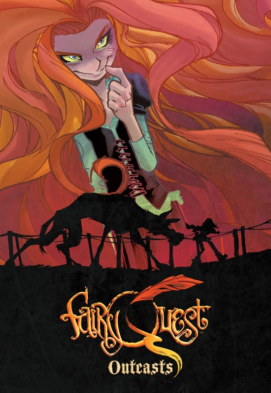 FAIRY QUEST: OUTCASTS #2 Cover by Humberto Ramos