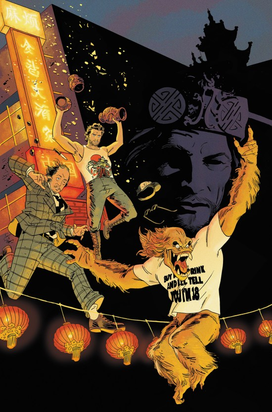 BIG TROUBLE IN LITTLE CHINA #4 Cover C by Evan Shaner