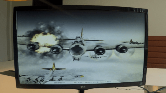 UP board running 3D game, 4K movie