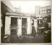 Rear of butchers yard and WC, toilet facilities, c.Jul 1900. Digital ID 12487_a021_a021000044