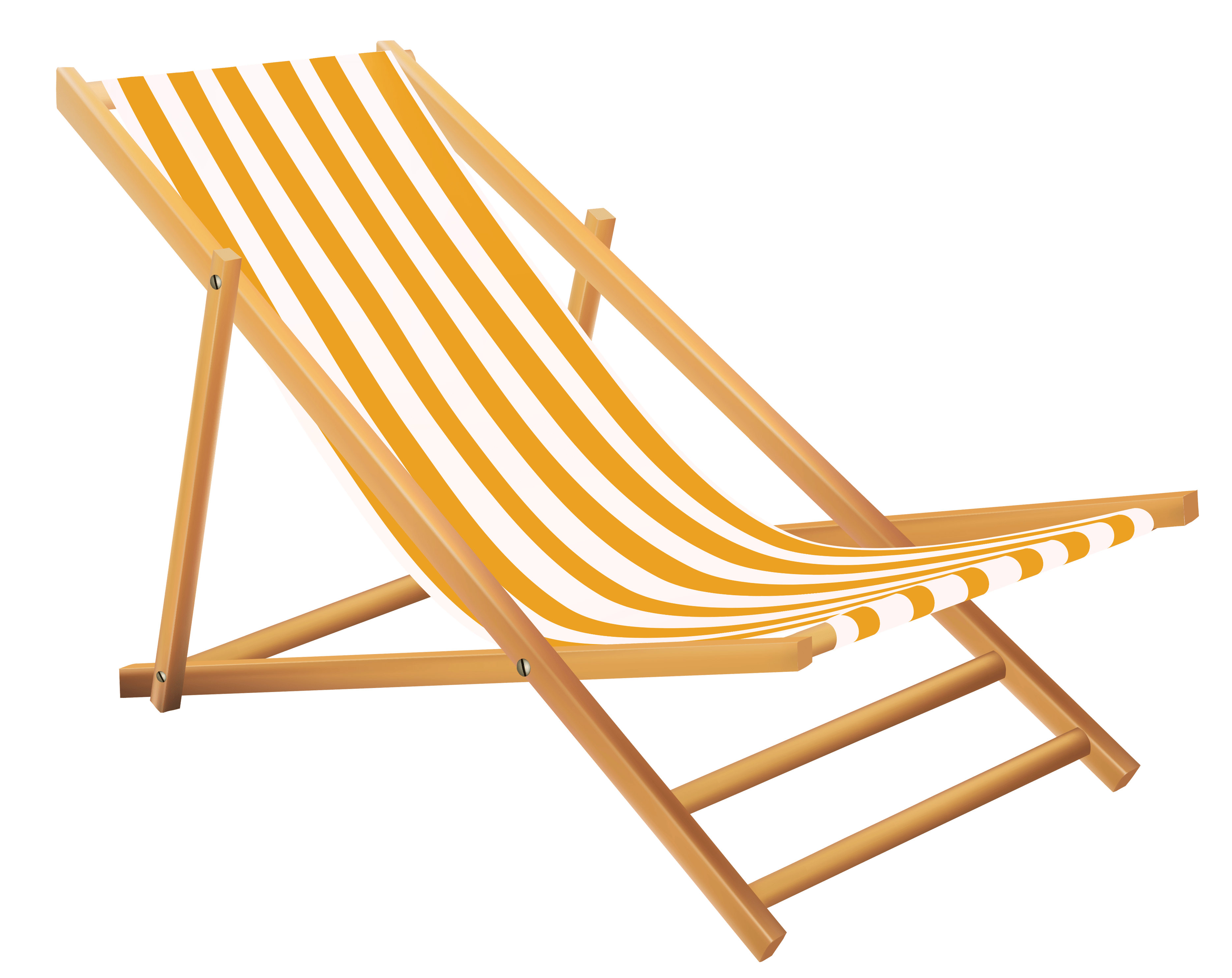 Transparent beach lounge chair clipart view full size download fullsize