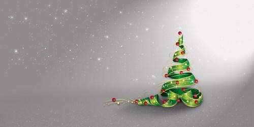Medium Of Silver Christmas Tree