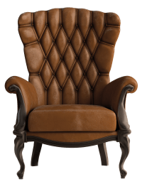 Transparent Brown Leather Chair PNG Clipart | Gallery ...