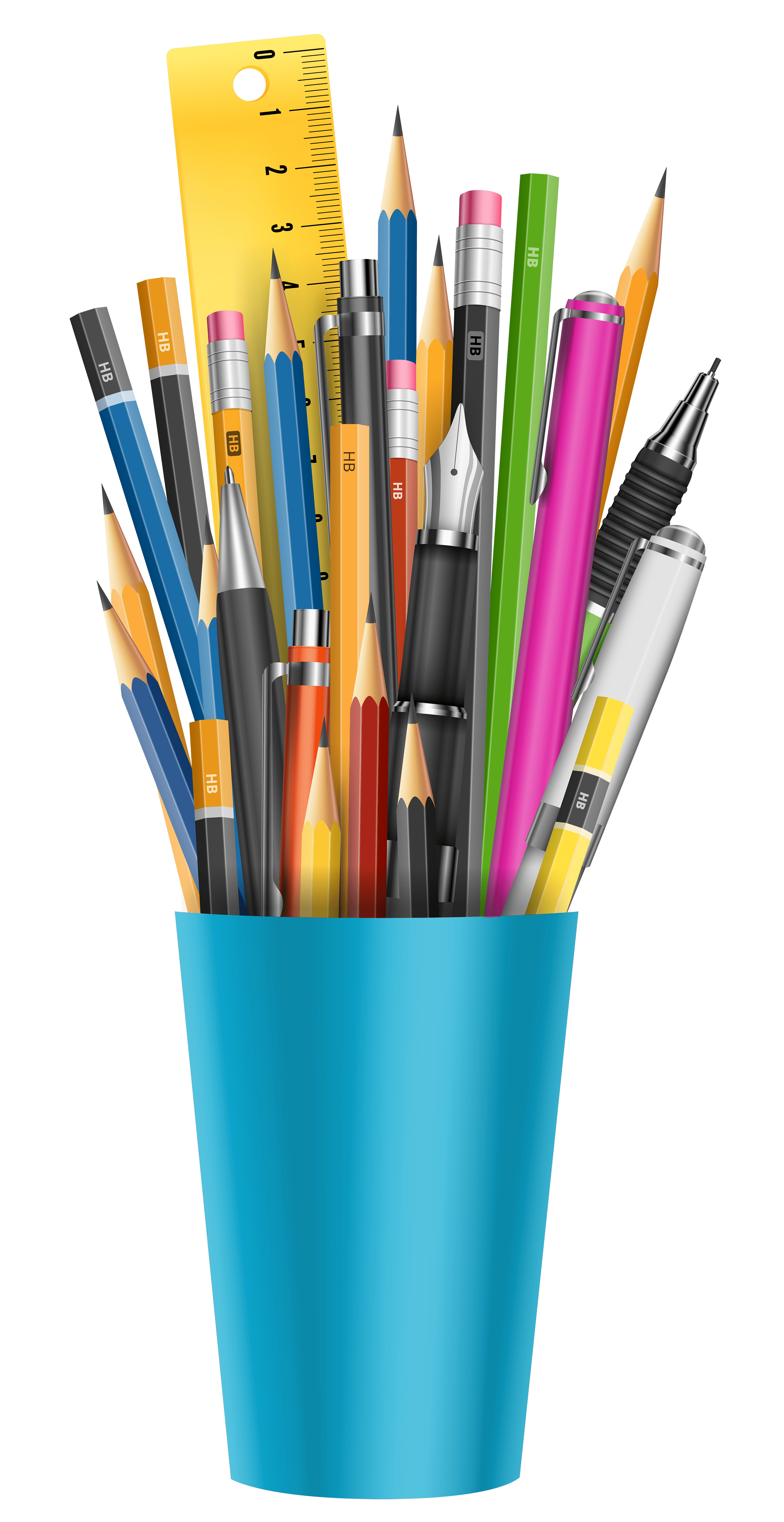School Supplies Background Png Pencil Cup Png Clipart Picture Gallery Yopriceville