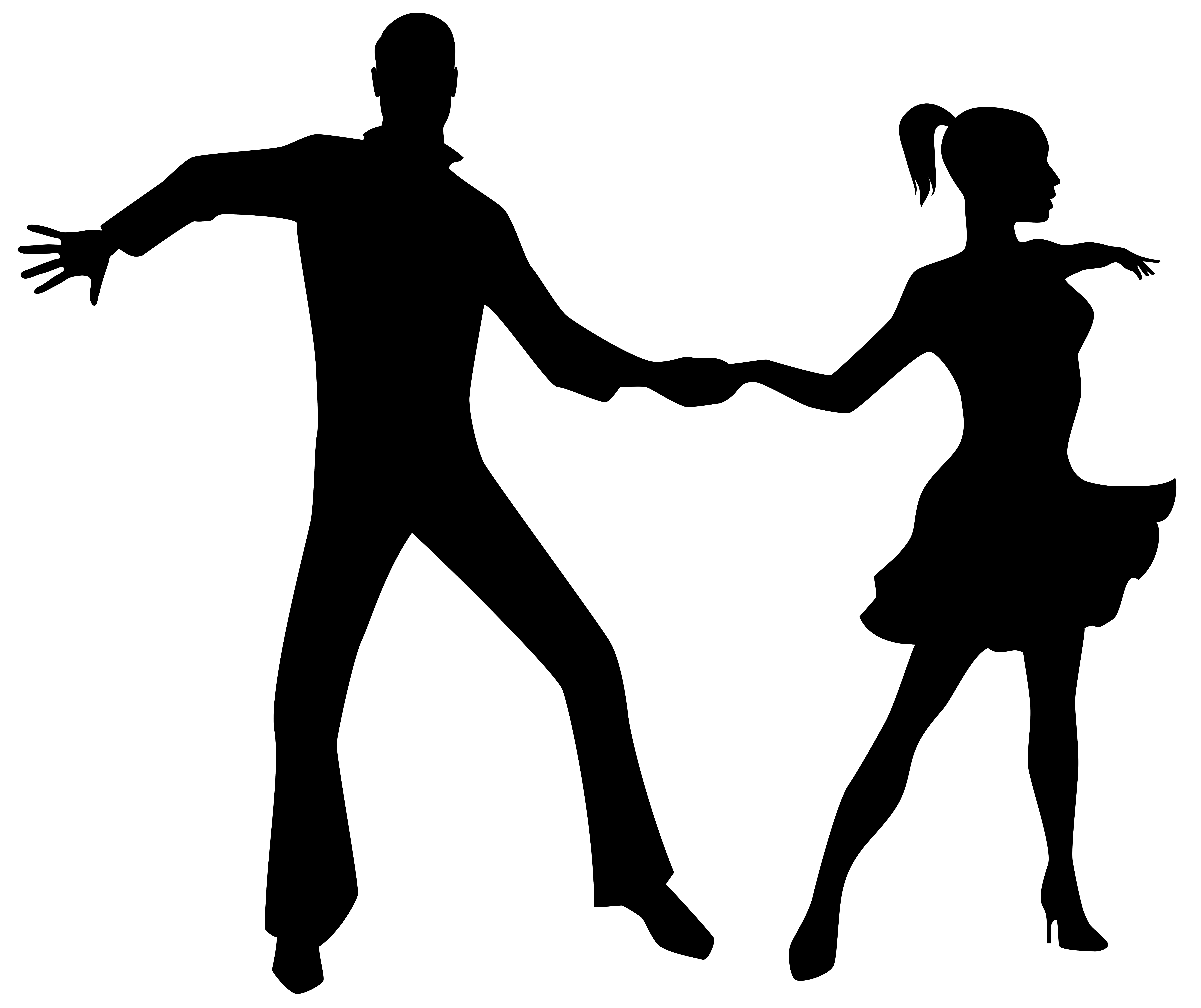 Loving Boy And Girl Hd Wallpapers Dancing Couple Silhouette Png Transparent Clip Art Image